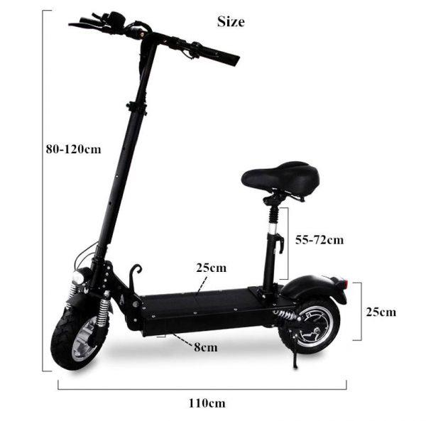 FLJ C11 Electric Scooter image 2