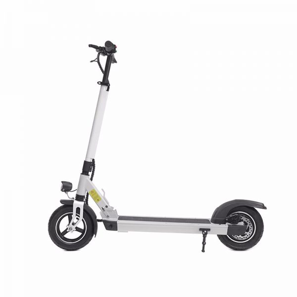 greenpedel-x1-electric-scooter-side-view
